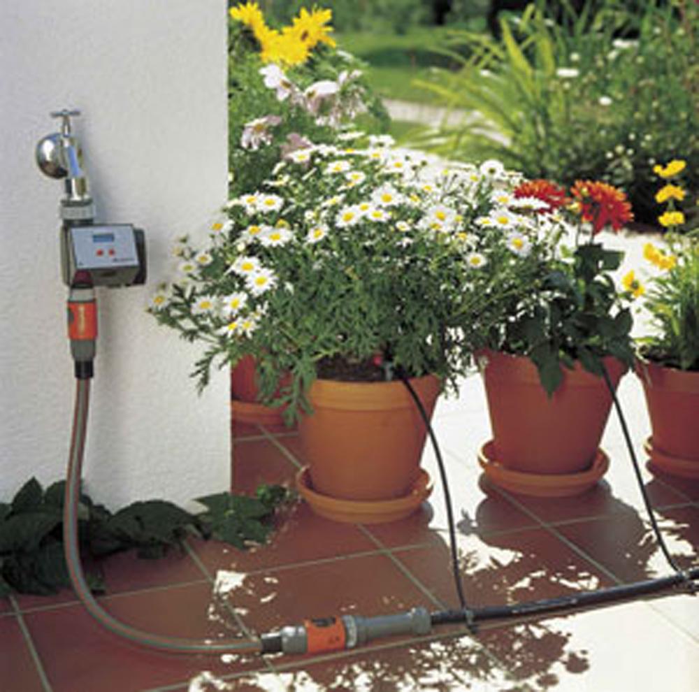 Gardena Micro Drip inc Timer Automatic Greenhouse Garden ...