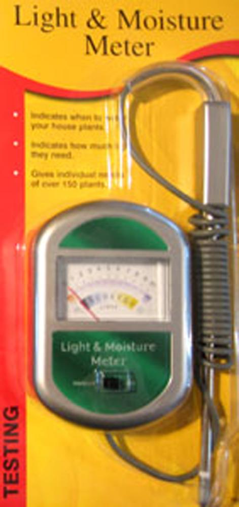 Light Meter Moisture Meter Thermometers Soil Testing