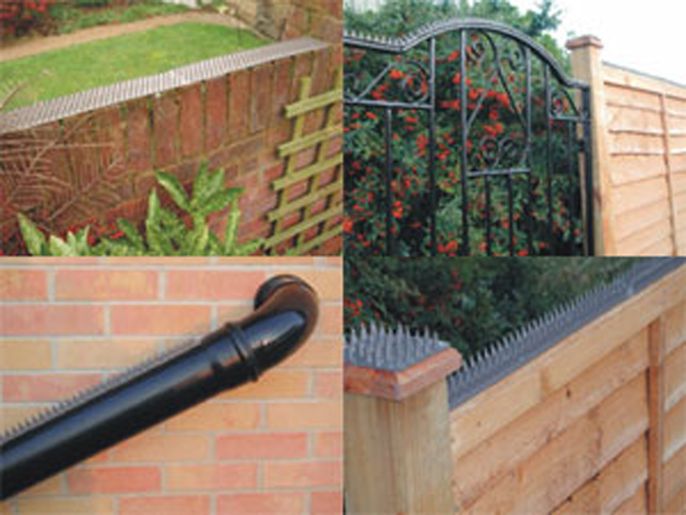 cat repellent for garden. Prikka Strips - Fence Spikes Cat Deterrent Repellent For Garden