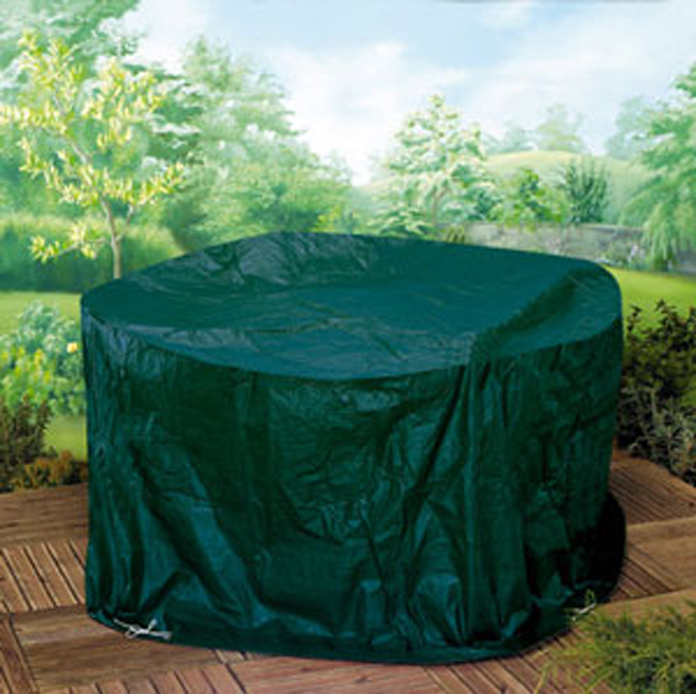 Patio Set Cover Round Garden Furniture Covers and BBQ