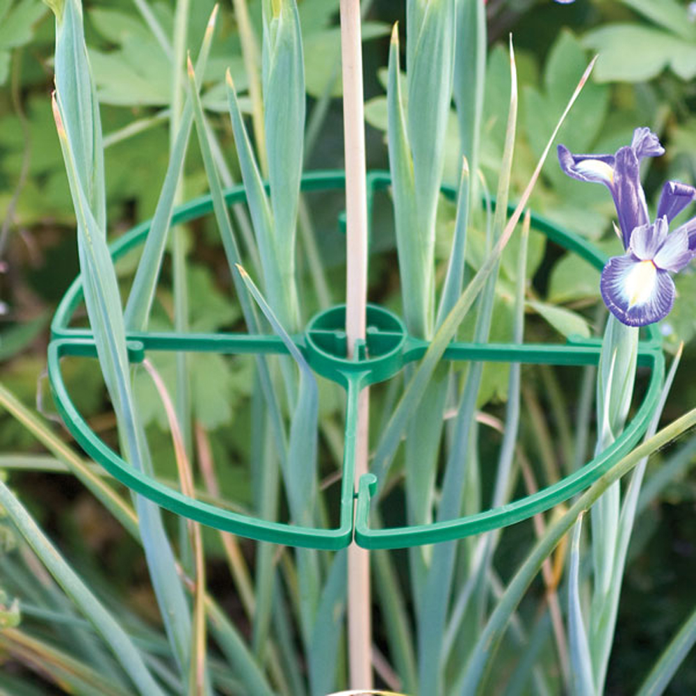 Tenax Flower Support Rings 8 Pack Plant Support Trellis