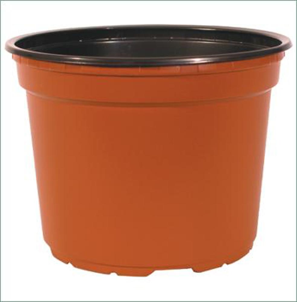 Teku 10cm Round Terracotta Plant Pots 50 Pack Plant Pots