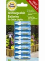 AA Rechargeable Batteries - Pack of 8