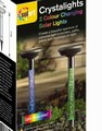 Crystalight Colourflow Solar Light - Twin Pack
