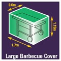 Premium Woven Polyester Cover - bbq cover large