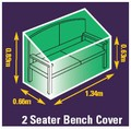 Premium Woven Polyester Cover - bench cover 1.2m