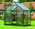 4ft x 6ft Gardman Greenhouse without b