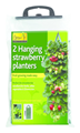 Hanging Strawberry Planter - Twin Pack