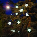9 White LED Christmas Star Lights