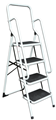 4 Step Ladder with Safety Rail