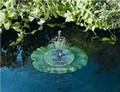Solar Fountain - Lily Fountain Floating