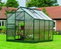 8ft x 6ft Gardman Greenhouse without b