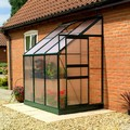 6ft x 4ft Gardman Lean-to Greenhouse w